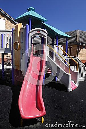 Área de jogo de crianças