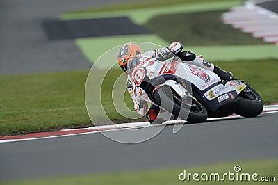 Rea Gino, moto 2, 2012 Редакционное Фотография