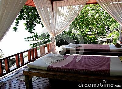 Área tailandesa del masaje