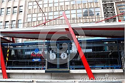 Rea Vaya Transit System,Johannesburg Editorial Photo