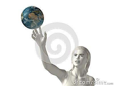 Reach-the-earth