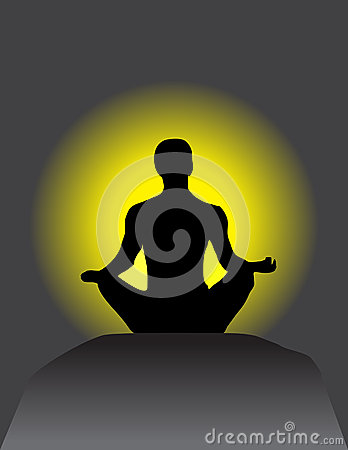 Free Reach Meditation In Your Body & Heart Stock Photos - 28537833