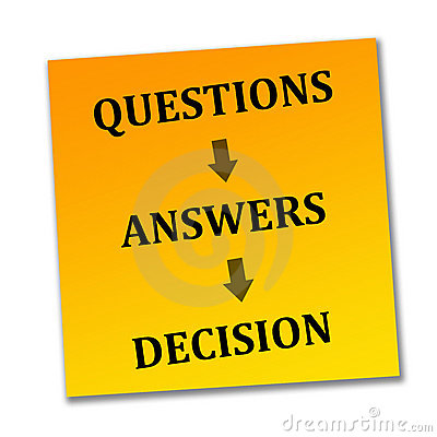 Reaching a decision