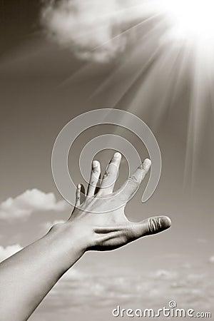 Reaching the heaven