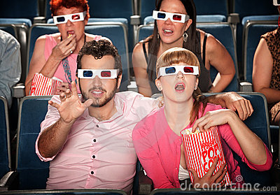 Reaching Out at 3D Movie