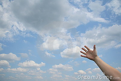 Reaching Out Royalty Free Stock Photography - Image: 5913537