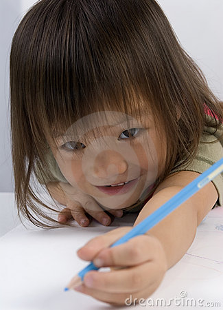 Reaching with the pencil