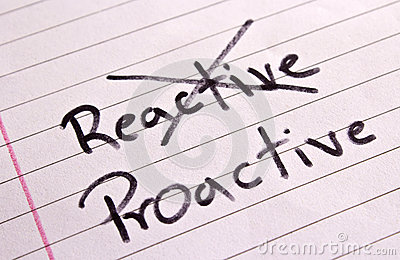 Reactive and Proactive concept