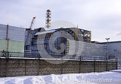 Reactor #4 at Chernobyl Power Plant
