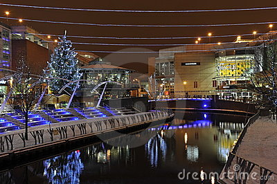 Reading City's Christmas Decoration