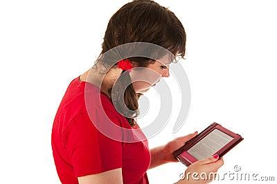 Reading in e-reader