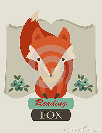 Free Reading Fox Stock Images - 41509534