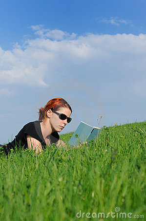 Reading Recreation Nature Stock Photos - Image: 9078963