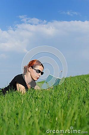 Reading recreation nature