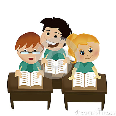 Reading some books