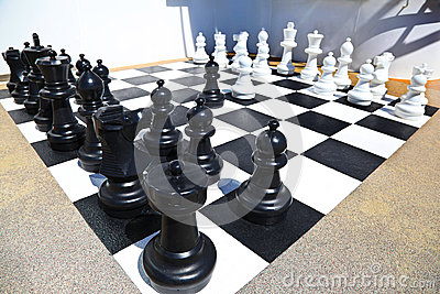 Ready for chess battle