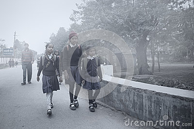 Ready for school Editorial Stock Image
