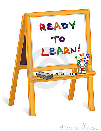 Ready to Learn, Whiteboard Easel