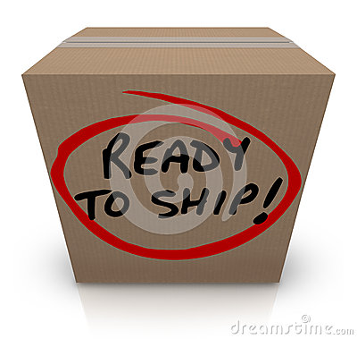 Ready To Ship Cardboard Box Mailing Package Order In Stock
