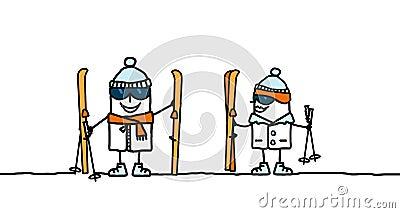 Ready to ski !