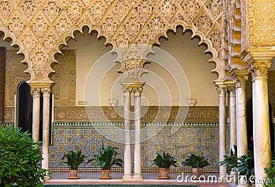 Real Alcazar (royal palace), Sevilla, Spain