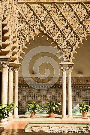 Real Alcazar, Sevilla, Spain