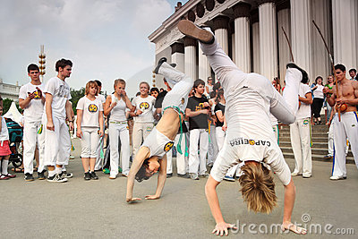 Real capoeira performance Editorial Image