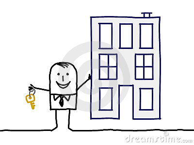 Real estate agent & building