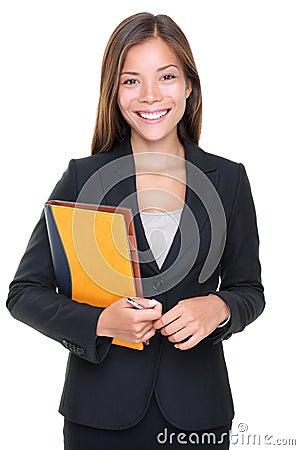 Free Real Estate Agent Business Woman Portrait Stock Photos - 17643623