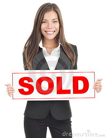 Free Real Estate Agent Sign Royalty Free Stock Photos - 16282548