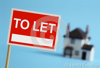 Real estate agent to let sign