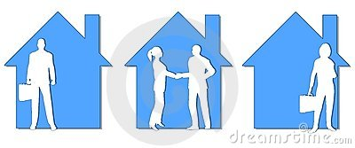 Real Estate Agents Clip Art