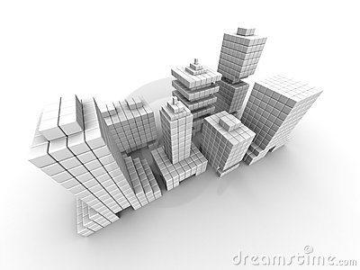 Real Estate Business Commercial Building Royalty Free Stock ...