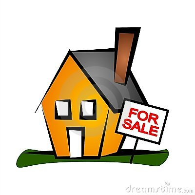 Real Estate Clip Art House 1 Royalty Free Stock Photography