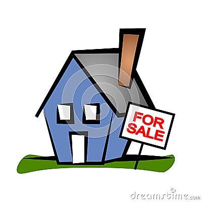 Real Estate Clip Art House 2