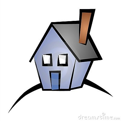 Real Estate Clip Art House 4