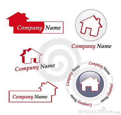 Real estate company logos