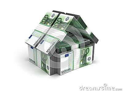 Real Estate Concept Euro