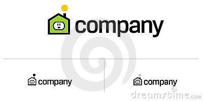 Real Estate House Logo Royalty Free Stock Images - Image: 14856799