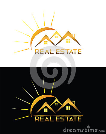 Real estate house logo for Modern house logo