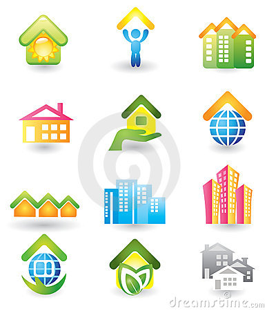 Real Estate -  Icon Set