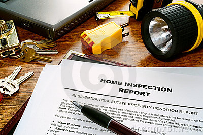 Real Estate Inspector Home Inspection Report File