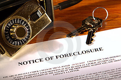 Real Estate Lender Foreclosure Notice and Lock Box