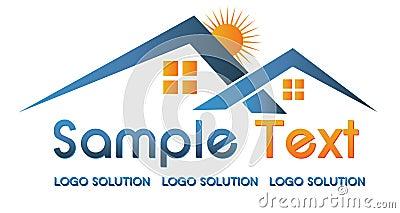 Real Estate Logo Stock Photo - Image: 16114610