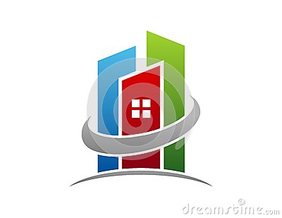 real estate logo circle building apartment symbol icon design vector 48483222 - Help in Buying a Property in Malaysia as a Foreigner