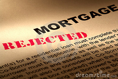 Real Estate Mortgage Loan Document Rejected