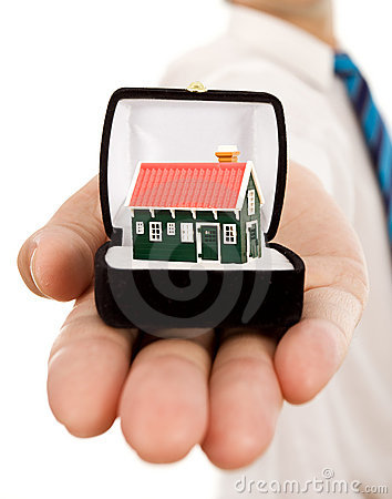 Free Real Estate Offer Royalty Free Stock Photography - 12908447