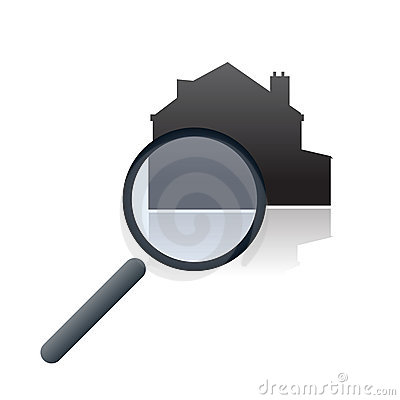 Real estate online search vector