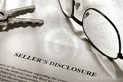 Real Estate Seller Property Disclosure Statement