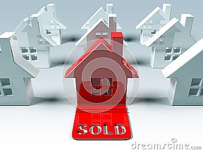 Real estate : sold